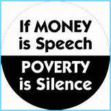 money speech-silence